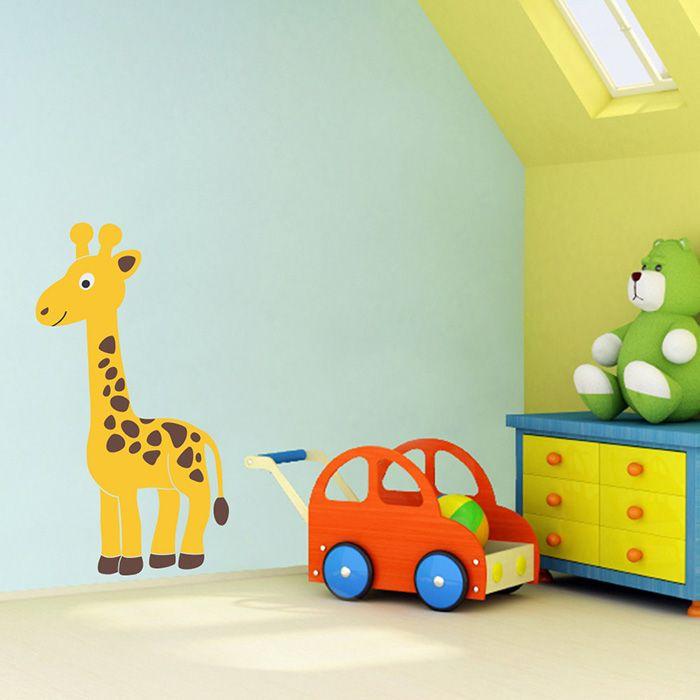 Exclusive-Muursticker-Giraffe