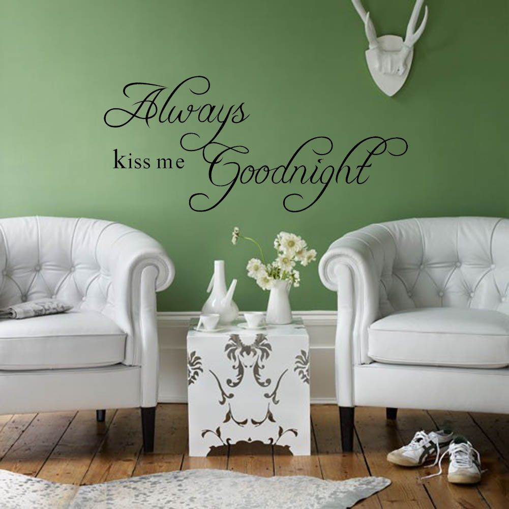 Muursticker-Always-Kiss-Me-Goodnight-5