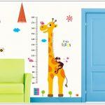 Muursticker-Groeimeter-Giraf-4