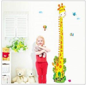 Muursticker-Groeimeter-Lange-Giraf-5