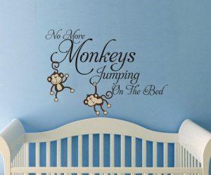 Muursticker-Monkeys