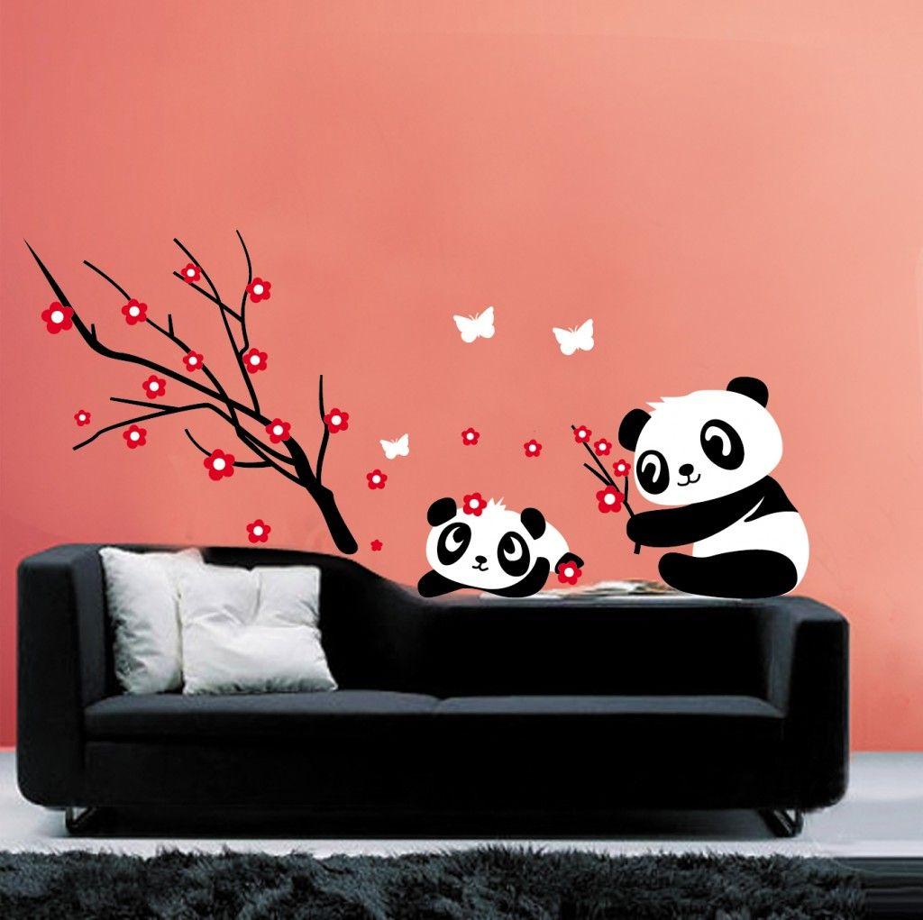 Muursticker-Panda-Beren-1024x1021