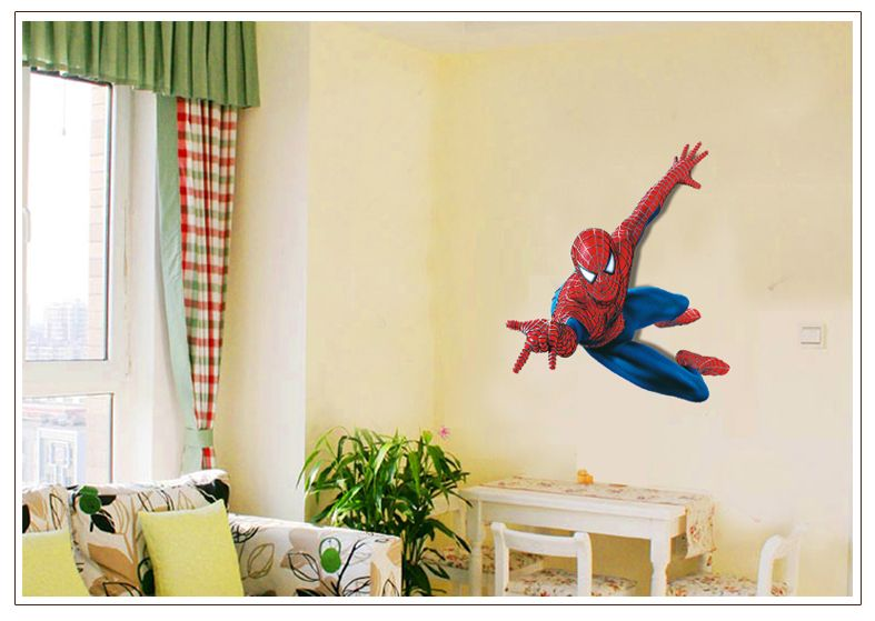 Muurstickers Kinderkamer Spiderman.Muursticker Spiderman Xl Jongenskamer Meermuurstickers Nl