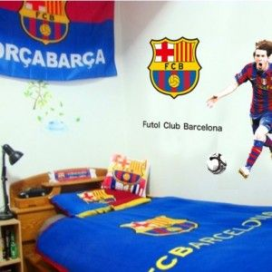 Muursticker-Voetbal-Barcelona-1
