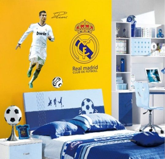 Muursticker-Voetbal-Real-Madrid-2