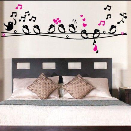 Muursticker-Vogeltjes