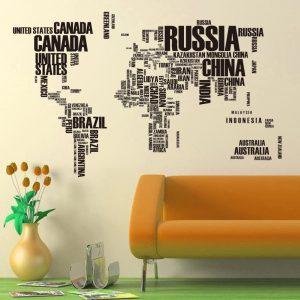 Muursticker-Wereldkaart-6