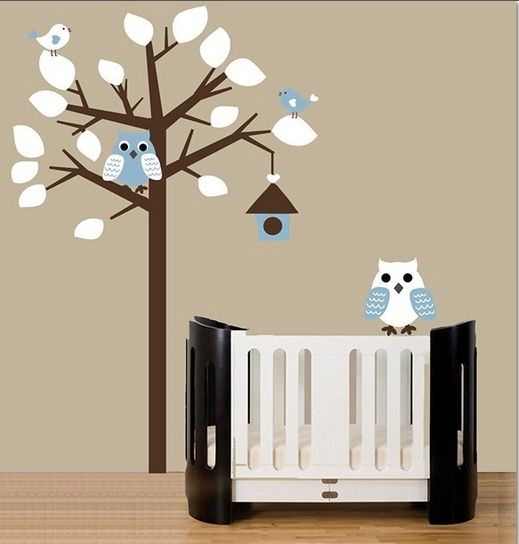 Blauwe Kinderkamer Home Designing: Muurstickers blauwe vlinders ...