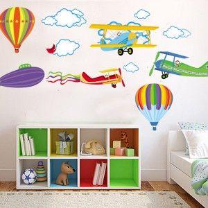 Vliegtuigen-en-Luchtballonnen