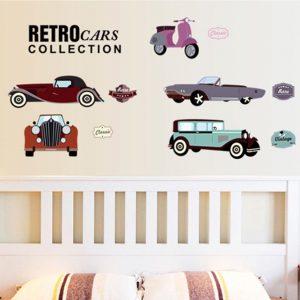 Muurstickers Klassieke Autos