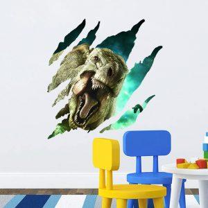 Muursticker Dinosaurus 3