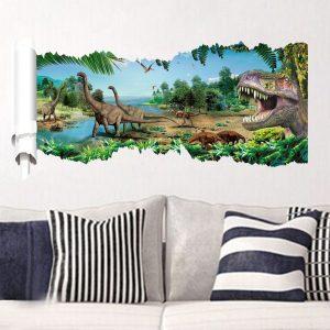Muursticker Dinosaurus 4