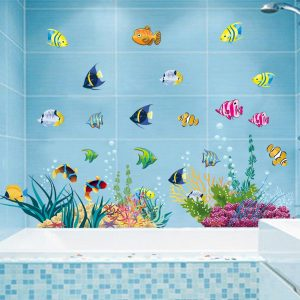 Muursticker Vissen