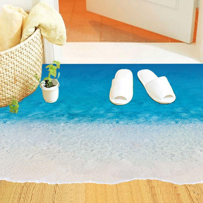Sticker Zand Strand Vloer - Muurstickers Babykamer & Kinderkamer