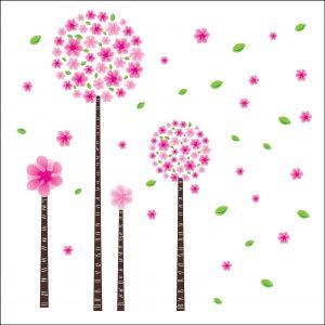 Roze Bloemen