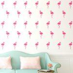 Flamingo Muursticker