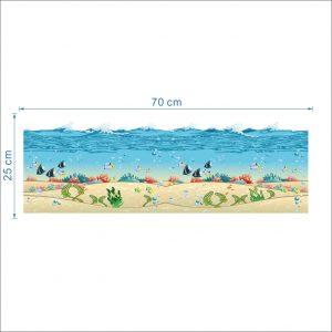 Sticker Vissen Onder Water