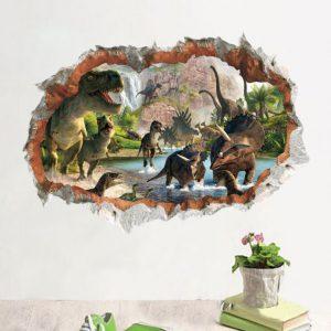 Dinosaurussen Muursticker